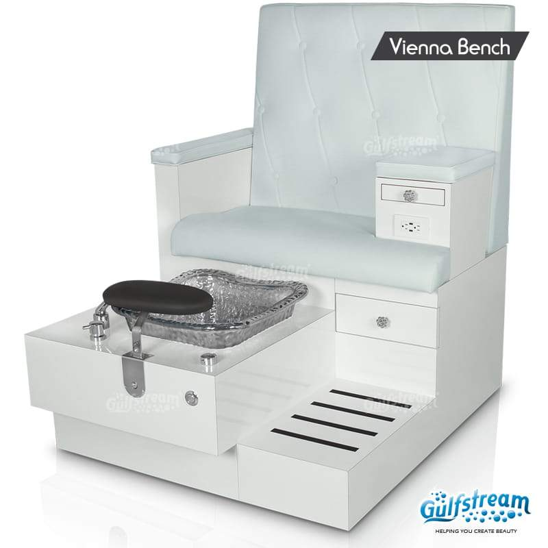 Gulfstream- Vienna Single Bench -Pedicure Spas