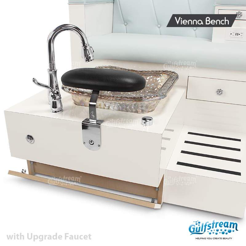 Gulfstream- Vienna Double Bench -Pedicure Spas