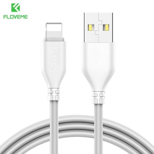 white Charging Cable For Apple iPhone