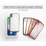 iPhone x Case Crystal Electroplating TPU Soft Cover