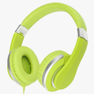 Green Premium Comfort Foldable Headphone
