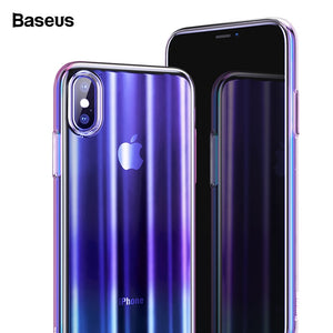 Purple Luxury Aurora Case For iPhone Xs XR Xs Max
