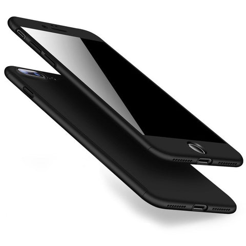 Black Full Protective IPhone Case