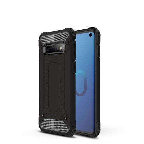 Hybrid Dual Layer Rugged Armor Case for Samsung Galaxy S10