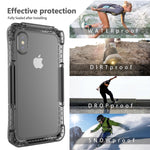 iPhone Case 360 Degree Protection Waterproof