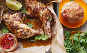 Easy Roast Chicken Marinade - Love My Earth