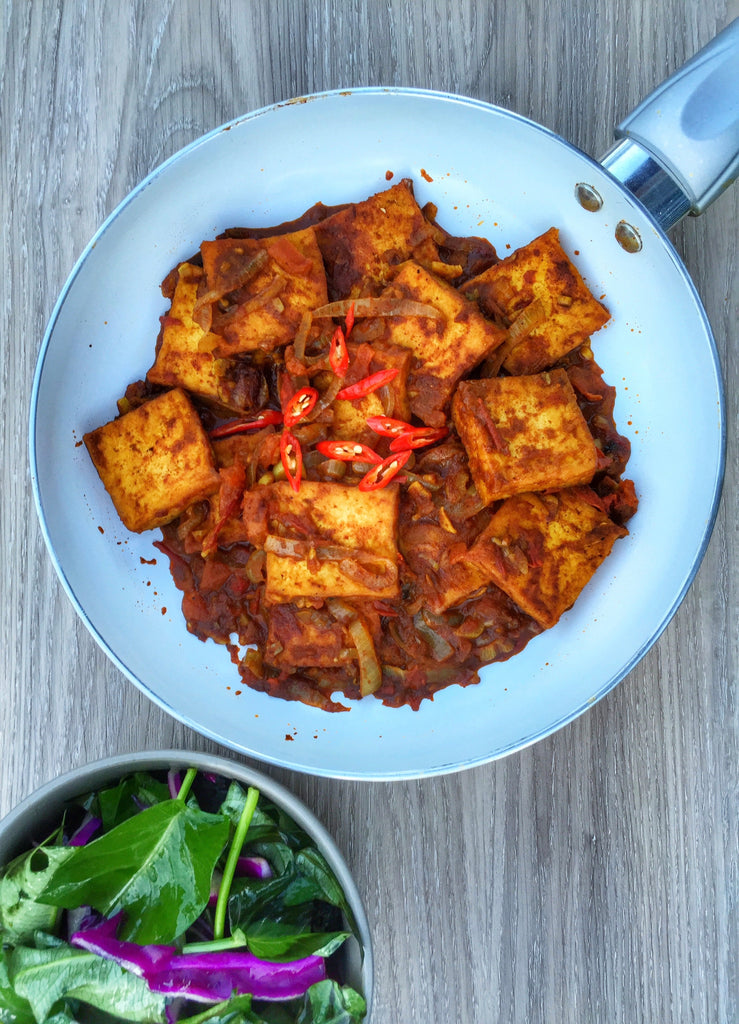 Love My Earth, Sweet Chilli Tofu Recipe