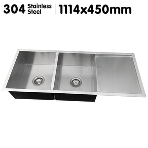 304 STAINLESS STEEL SINK - 1114 X 450MM - Shopit Store