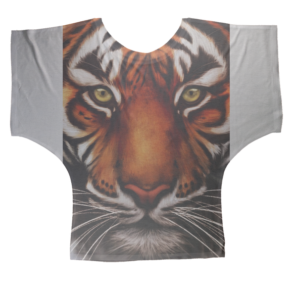 Tiger Sublimation Batwing Top - Shopit Store
