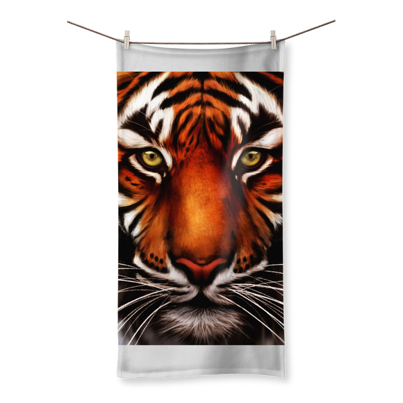 Tiger Sublimation All Over Towel - Shopit Store