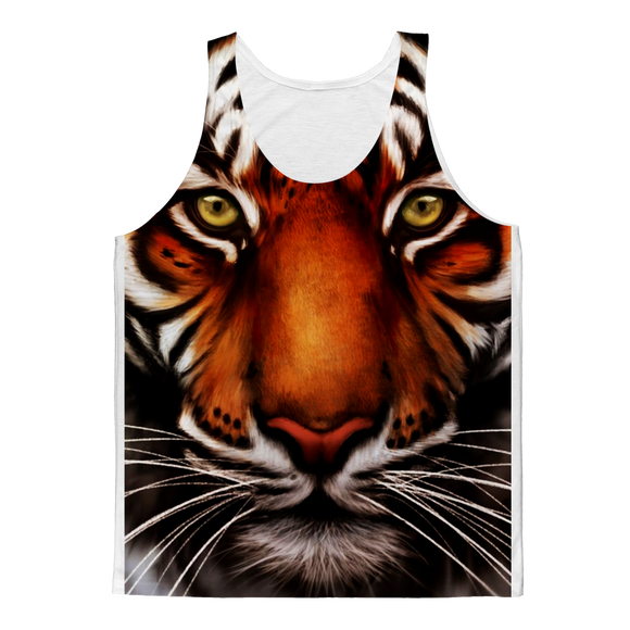 Tiger Classic Sublimation Adult Tank Top - Shopit Store