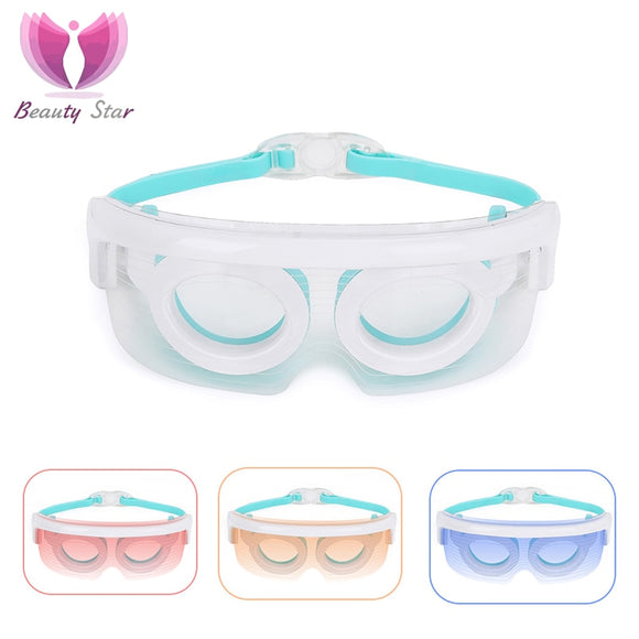 Beauty Star LED Beauty Eye Massager Heat Therapy Anti Wrinkle Eyes Skin Care Massage Device - Shopit Store