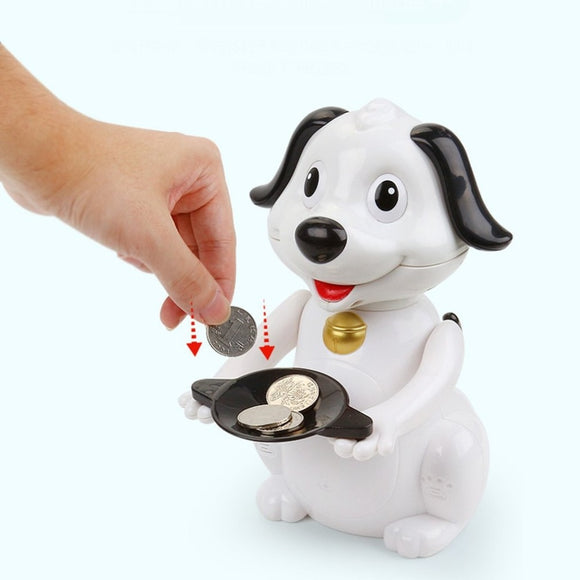 Robotic Dog Electronic Money Bank Saving Box Gifts for Kids - Shopit Store