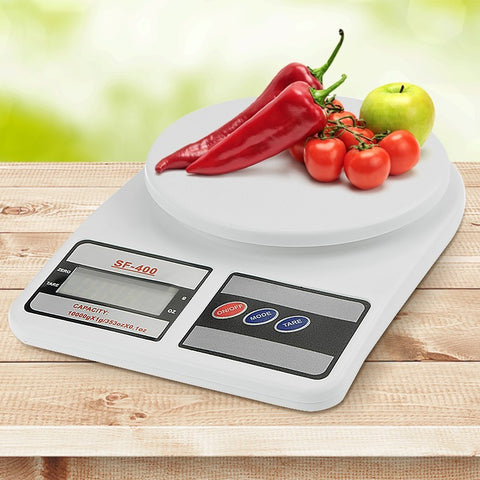 DIGITAL KITCHEN SCALES 10KG / 1GM ELECTRONIC FOOD SCALE - Shopit Store