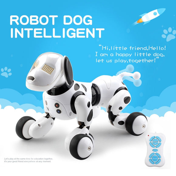 Intelligent RC Robot Dog Smart Electronic Pets Kids Toys - Shopit Store