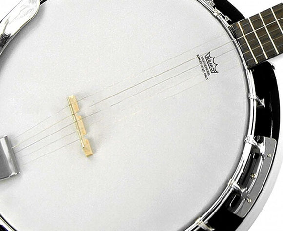KARRERA 5 STRING RESONATOR BANJO - BLACK-BROWN - Shopit Store