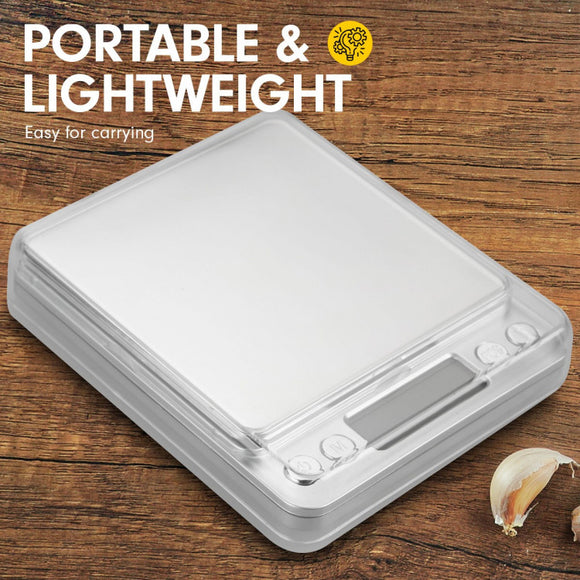 KITCHEN TABLE TOP DIGITAL SCALE 500G 0.01GM - Shopit Store