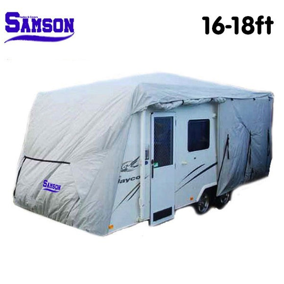 SAMSON HEAVY DUTY CARAVAN COVER WEATHER PROTECTOR VARIOUS SIZES - Shopit Store