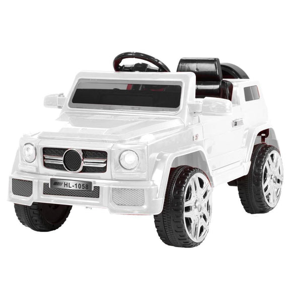 MERCEDES BENZ AMG G65 INSPIRED 12V RIDE-ON KIDS CAR - BLACK-WHITE - Shopit Store