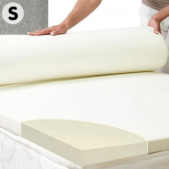LAURA HILL HIGH DENSITY MATTRESS FOAM TOPPER 5CM -7CM- SINGLE-KING SINGLE - Shopit Store