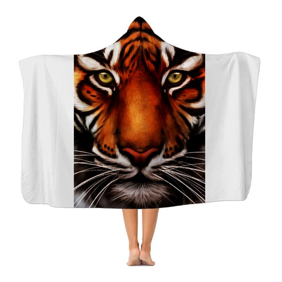 Tiger Premium Adult Hooded Blanket - Shopit Store