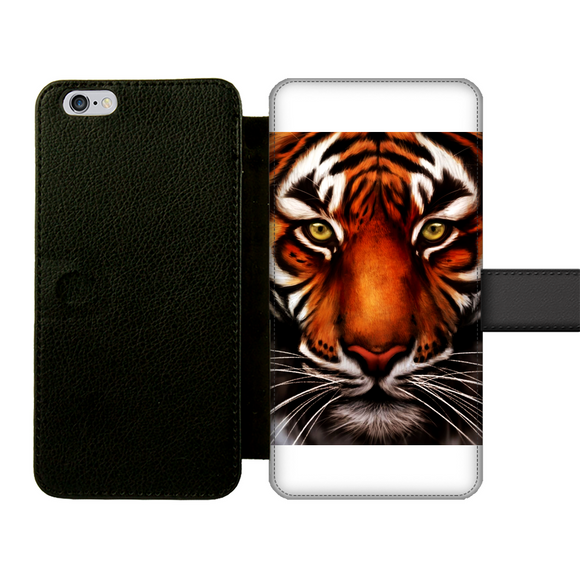 Tiger Front Printed Wallet Cases - Shopit Store