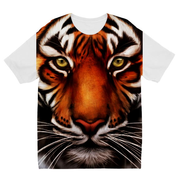 Tiger Sublimation Kids T-Shirt - Shopit Store