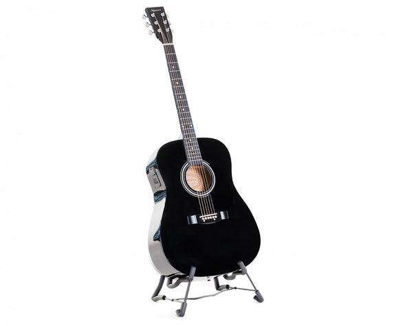 KARRERA ELECTRONIC ACOUSTIC GUITAR 41 Inch - BLACK - Shopit Store