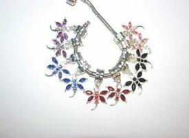 Butterfly European Charms for Bracelet Necklace Earrings - Shopit Store