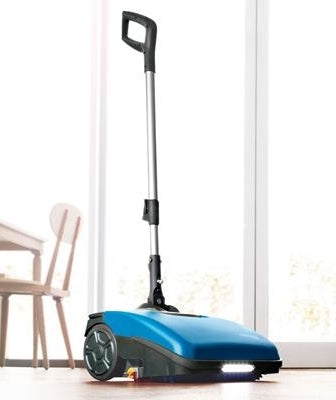 FIMAP FIMOP Commercial Hard Floor Scrubber Dryer Sweep Mop Cordless ION Battery Ex Demo - Shopit Store