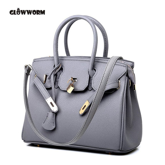 Classic Style Luxury Designer Ladies PU Leather Crossover Handbag - Shopit Store
