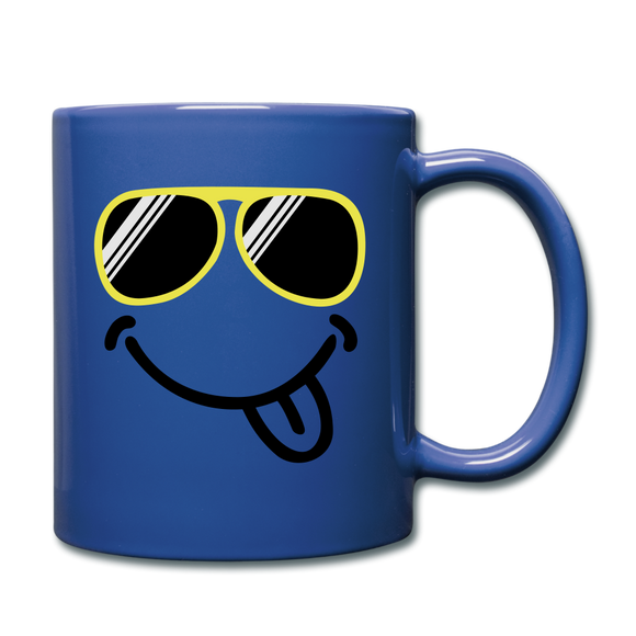 Full Color Mug - Blue Comic - Limited Edition Hot You Know You Want Me - Shopit Store