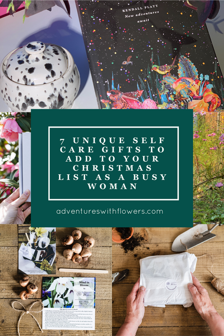 7 unique self care gifts to add to your Christmas list as a busy woman