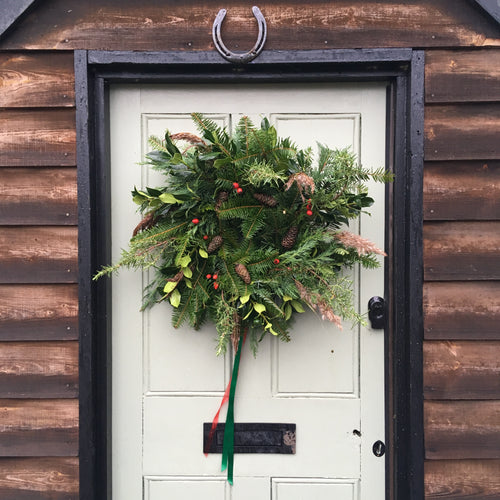 Festive Wreath Making Workshop at Adventures with Flowers HQ