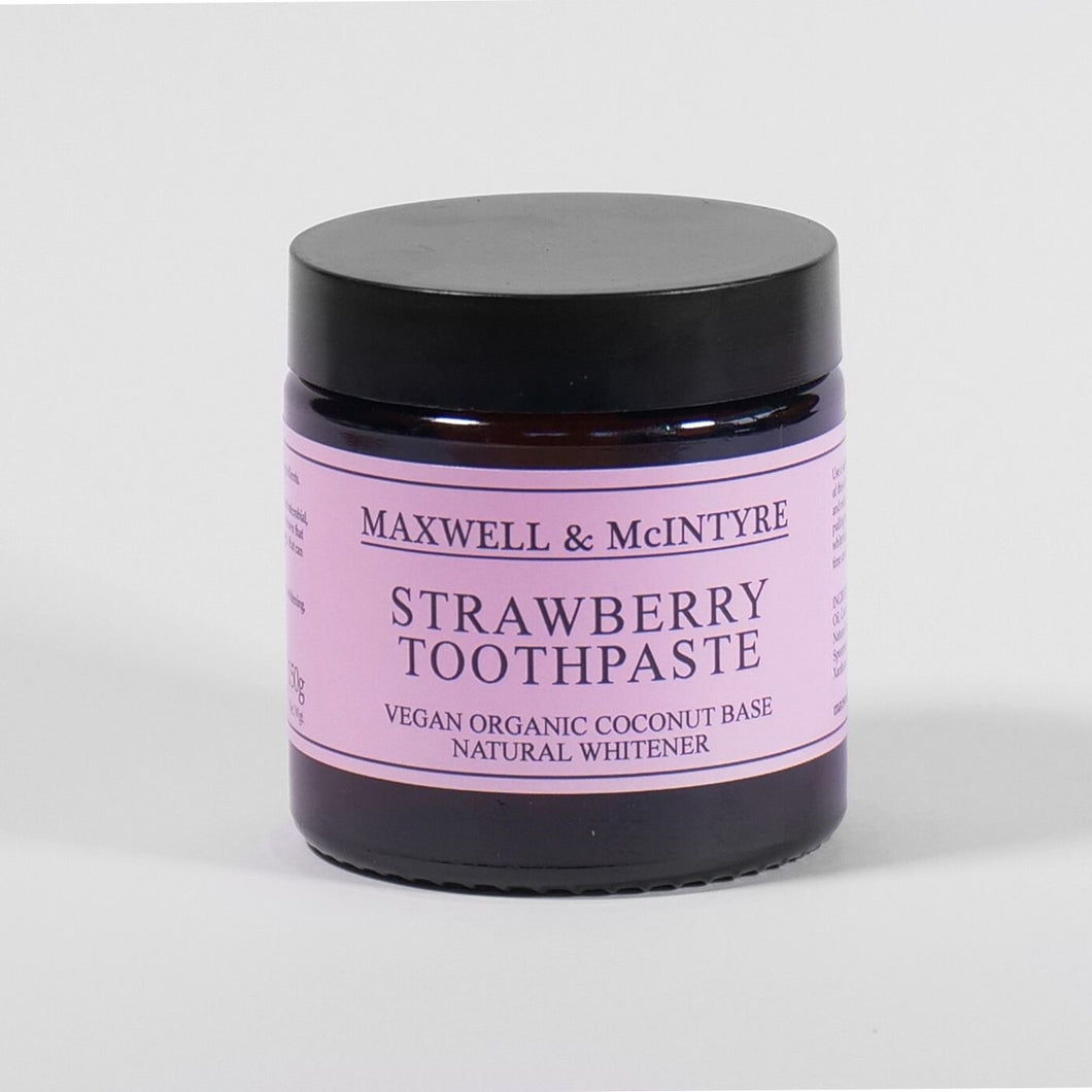 NATURAL STRAWBERRY TOOTHPASTE