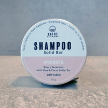Load image into Gallery viewer, BATHE ALCHEMY HYDRATE SHAMPOO BAR