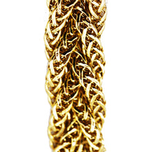 Load image into Gallery viewer, 14KT Woven Braid Gold Bracelet