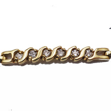 Load image into Gallery viewer, Diamond & Gold Bracelet