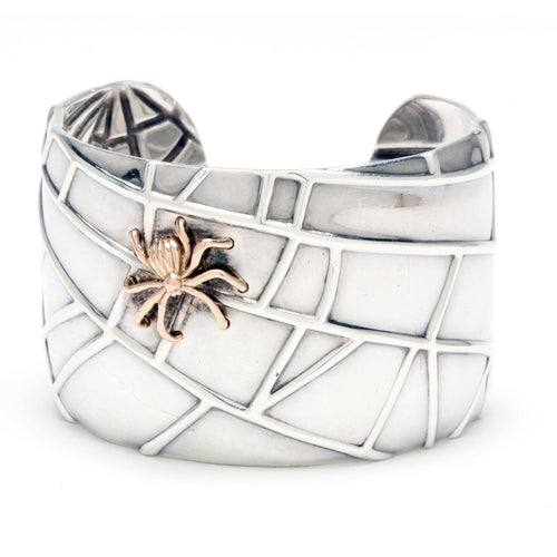 Tiffany & Co. 925/18KT Spider Cuff
