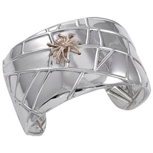 Load image into Gallery viewer, Tiffany & Co. 925/18KT Spider Cuff