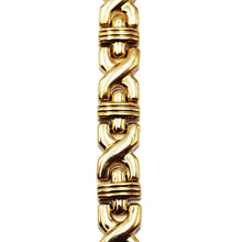 Load image into Gallery viewer, 14KT Gold X-Link Bracelet