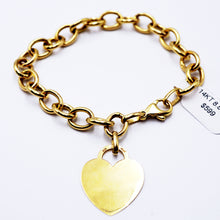 Load image into Gallery viewer, Gold Charm Bracelet
