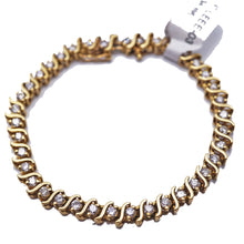 Load image into Gallery viewer, S- Link Diamond Tennis Bracelet 3CTW