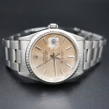 Load image into Gallery viewer, Rolex Stainless Datejust watch 16220
