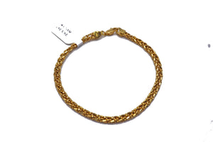 18KT Yellow Gold Braid Bracelet