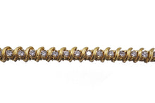 Load image into Gallery viewer, S-Link Diamond Tennis Bracelet 5.0 CTW