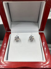 Load image into Gallery viewer, 1.64 CTW Diamond Stud Earrings