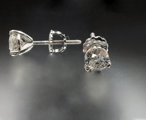 1.15 CTW Diamond Stud Earrings