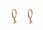 Load image into Gallery viewer, Solitario earrings