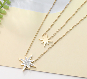 Two Layer Star Necklace